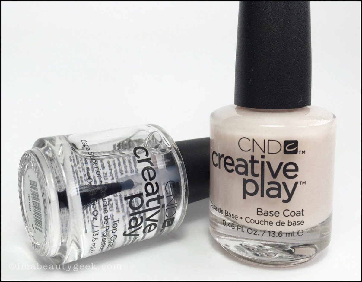 CND Creative Play Base and Top Coat