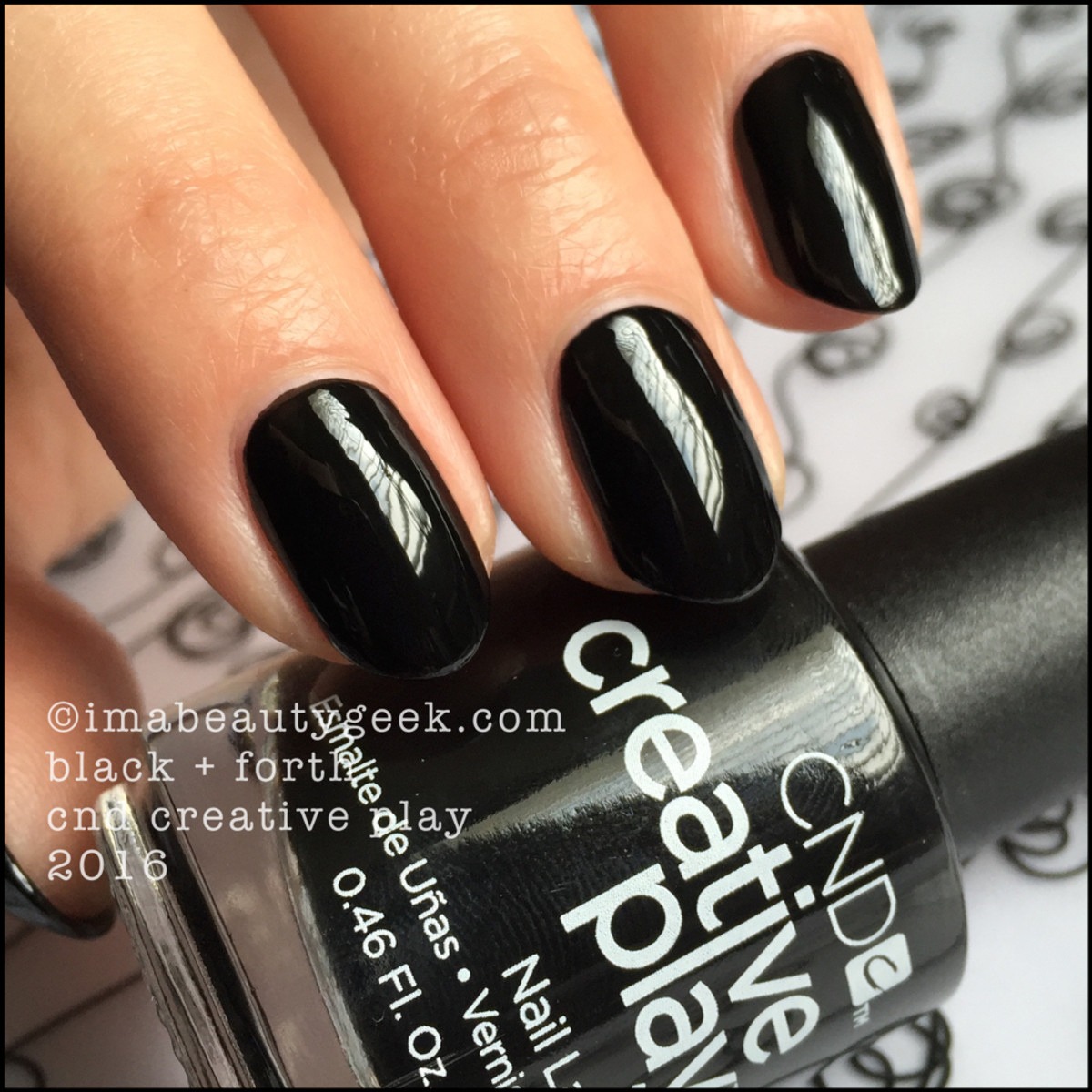 CND Creative Play Black and Forth_CND Creative Play Nail Polish Swatches 2016