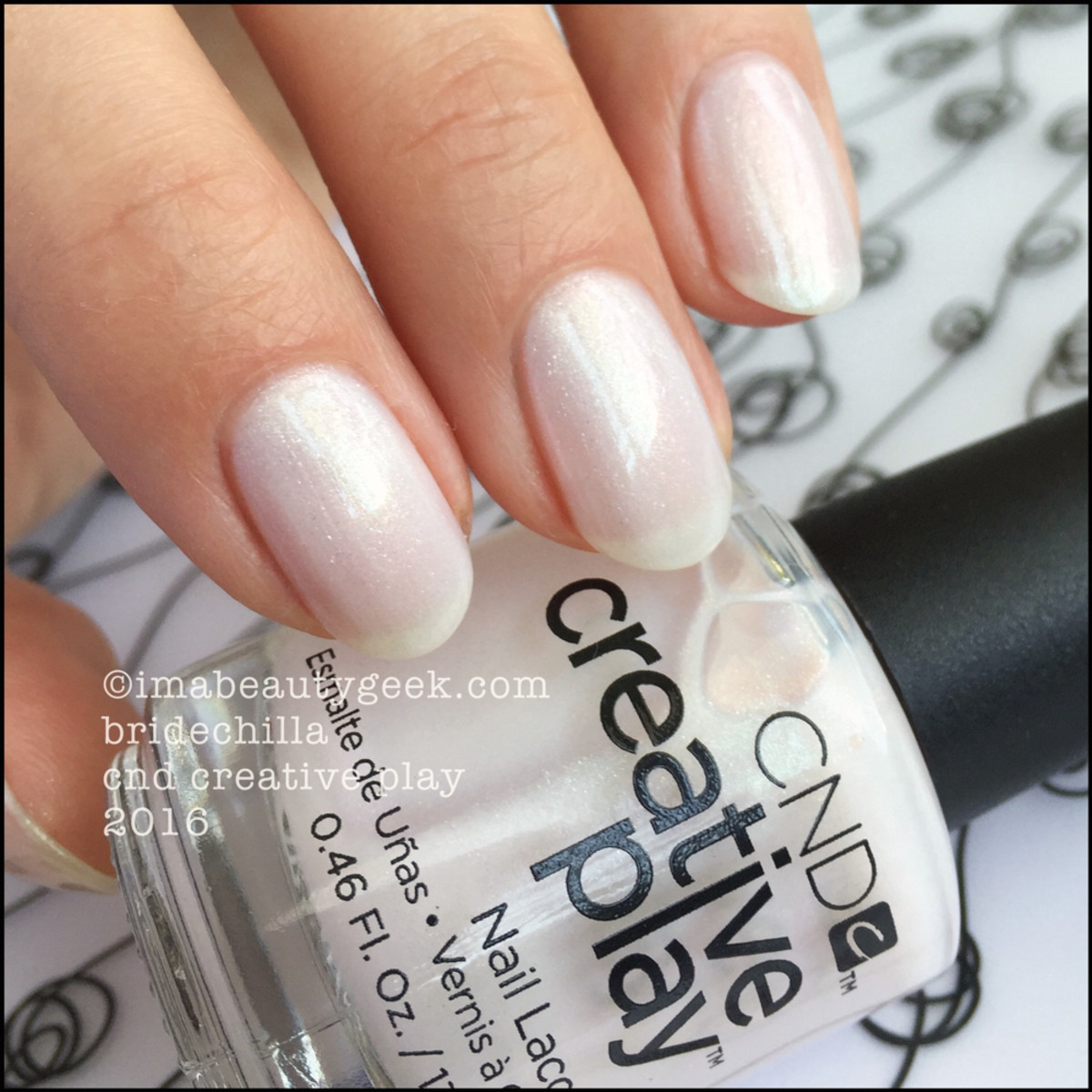 CND Creative Play Bridechilla_CND Creative Play Nail Lacquer 2016 Swatches