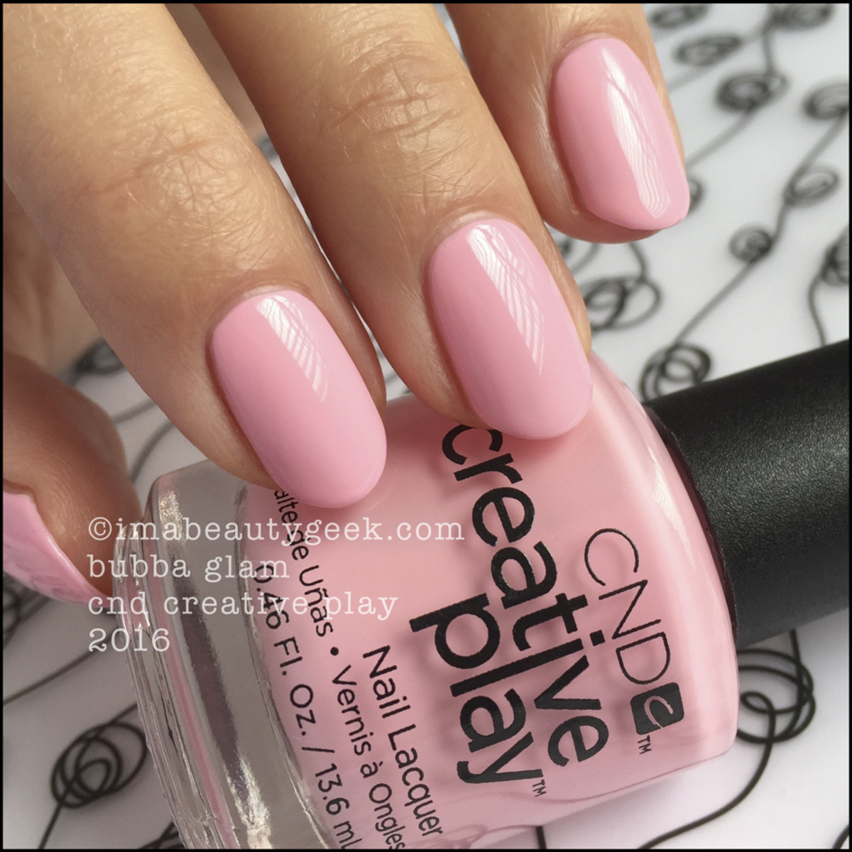 CND Creative Play Bubba Glam_CND Creative Play Nail Lacquer Swatches 2016