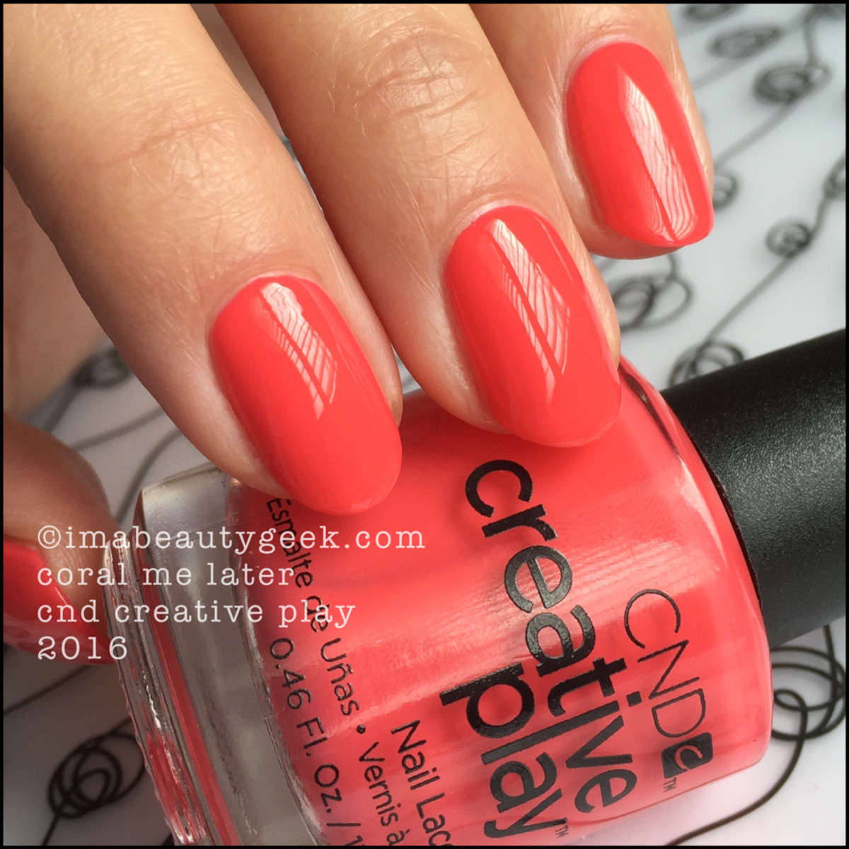 CND Creative Play Coral Me Later_CND Creative Play Nail Polish Swatches
