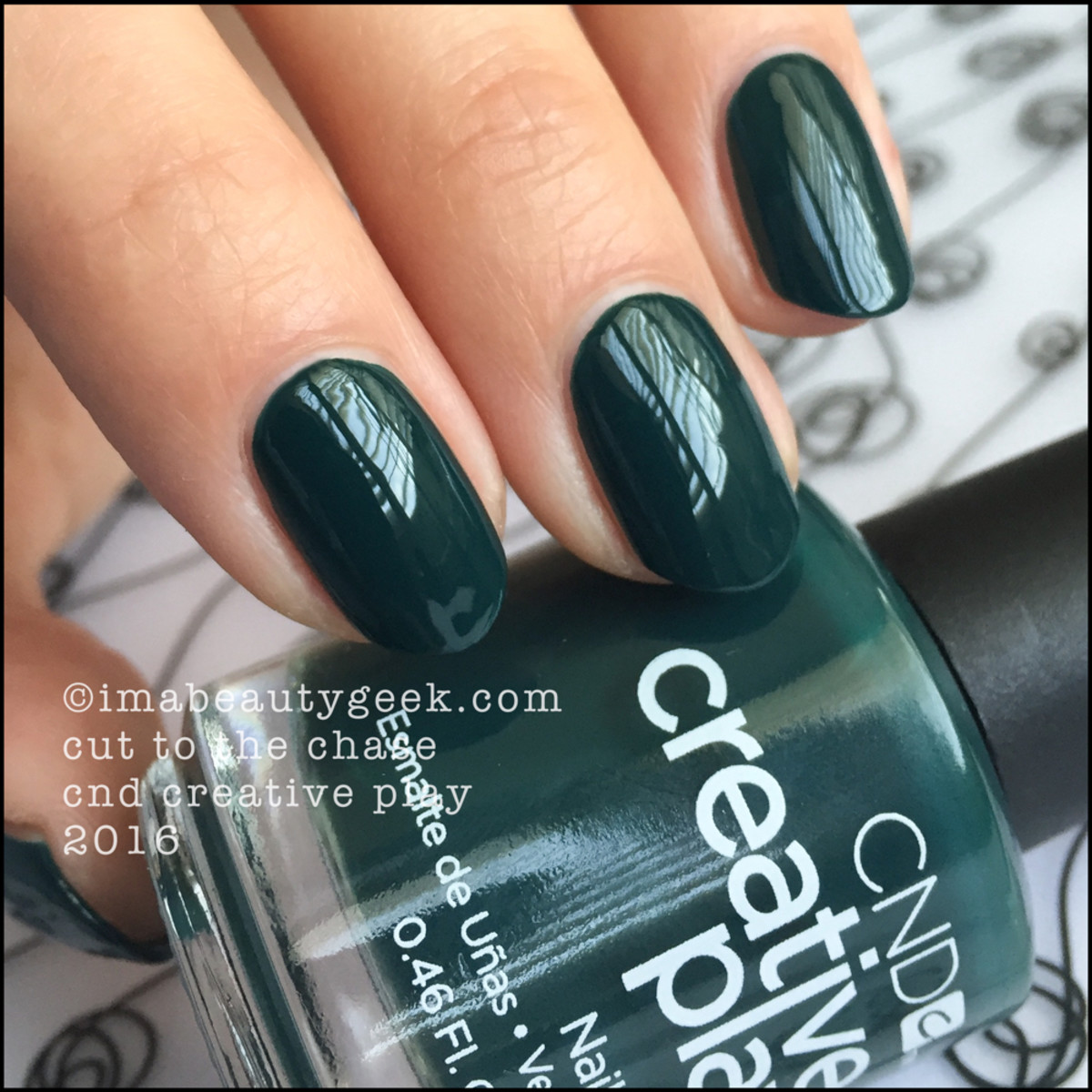 CND Creative Play Cut to the Chase_CND Creative Play Nail Polish Swatches