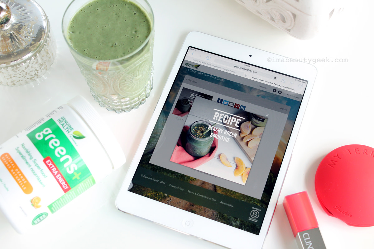 Greens+ Extra Energy – I love this stuff.