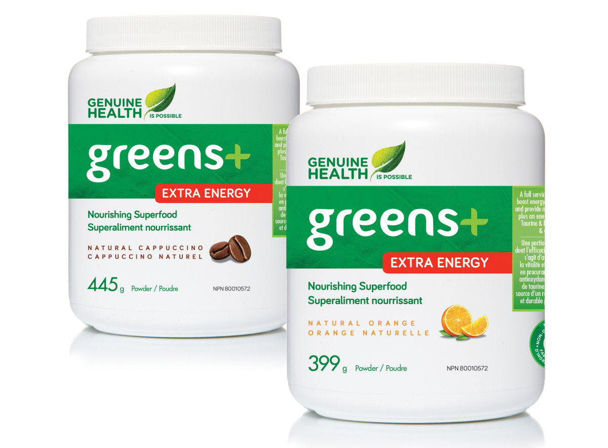Greens+ Extra Energy giveaway