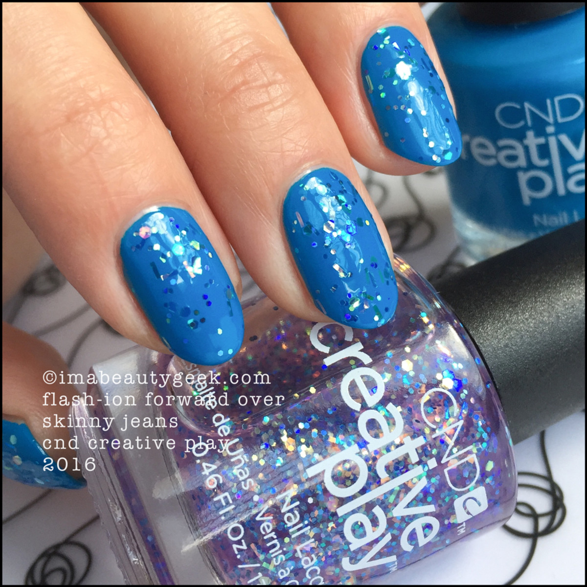 CND Creative Play Flashion Forward over Skinny Jeans_CND Creative Play Nail Polish Swatches