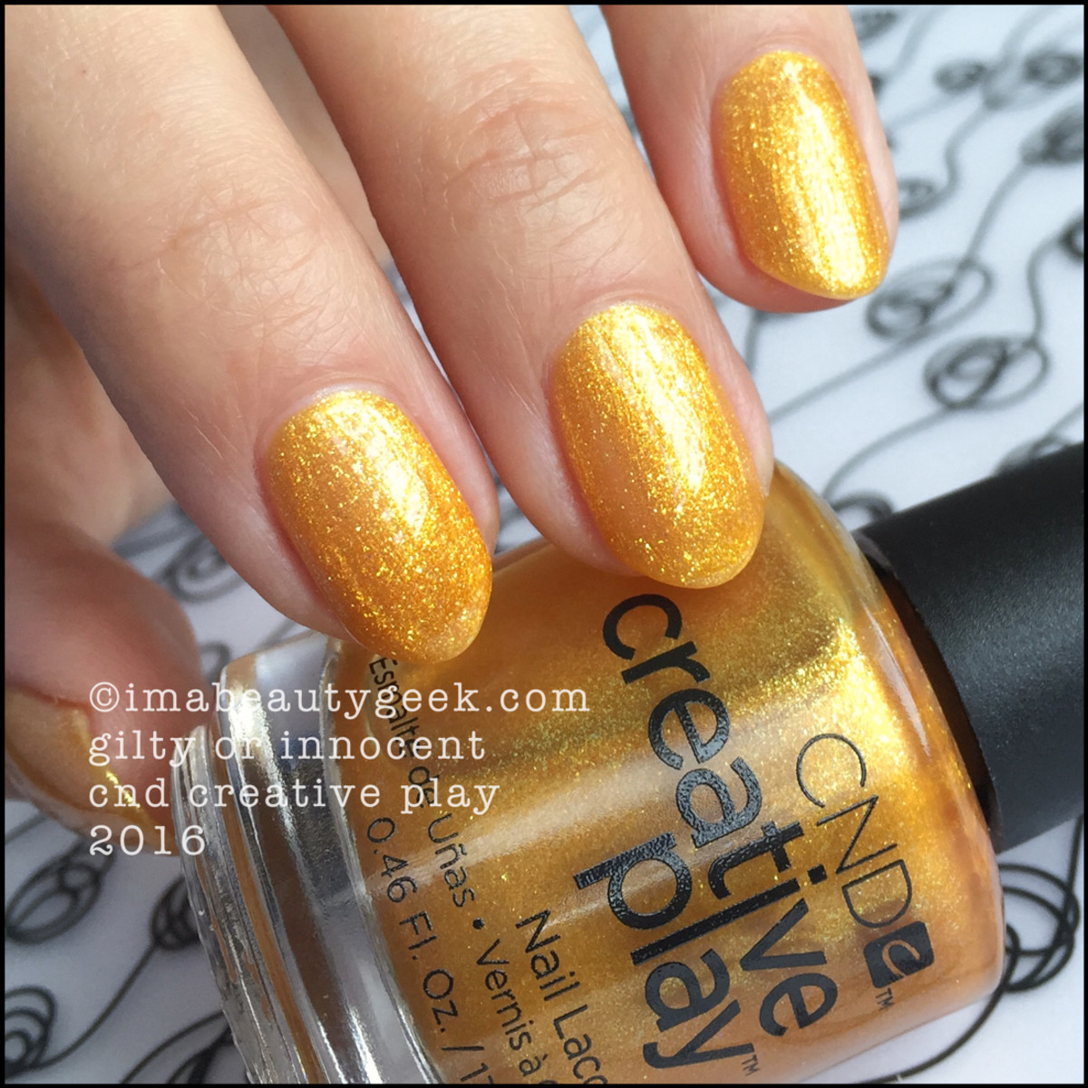 CND Creative Play Gilty or Innocent_CND Creative Play Nail Polish Swatches