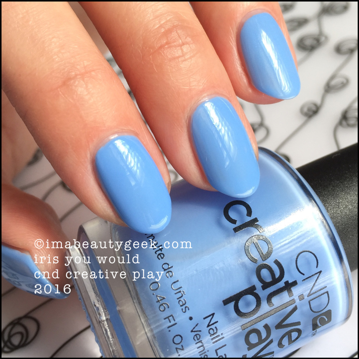 CND Creative Play Iris You Would_CND Creative Play Nail Polish Swatches