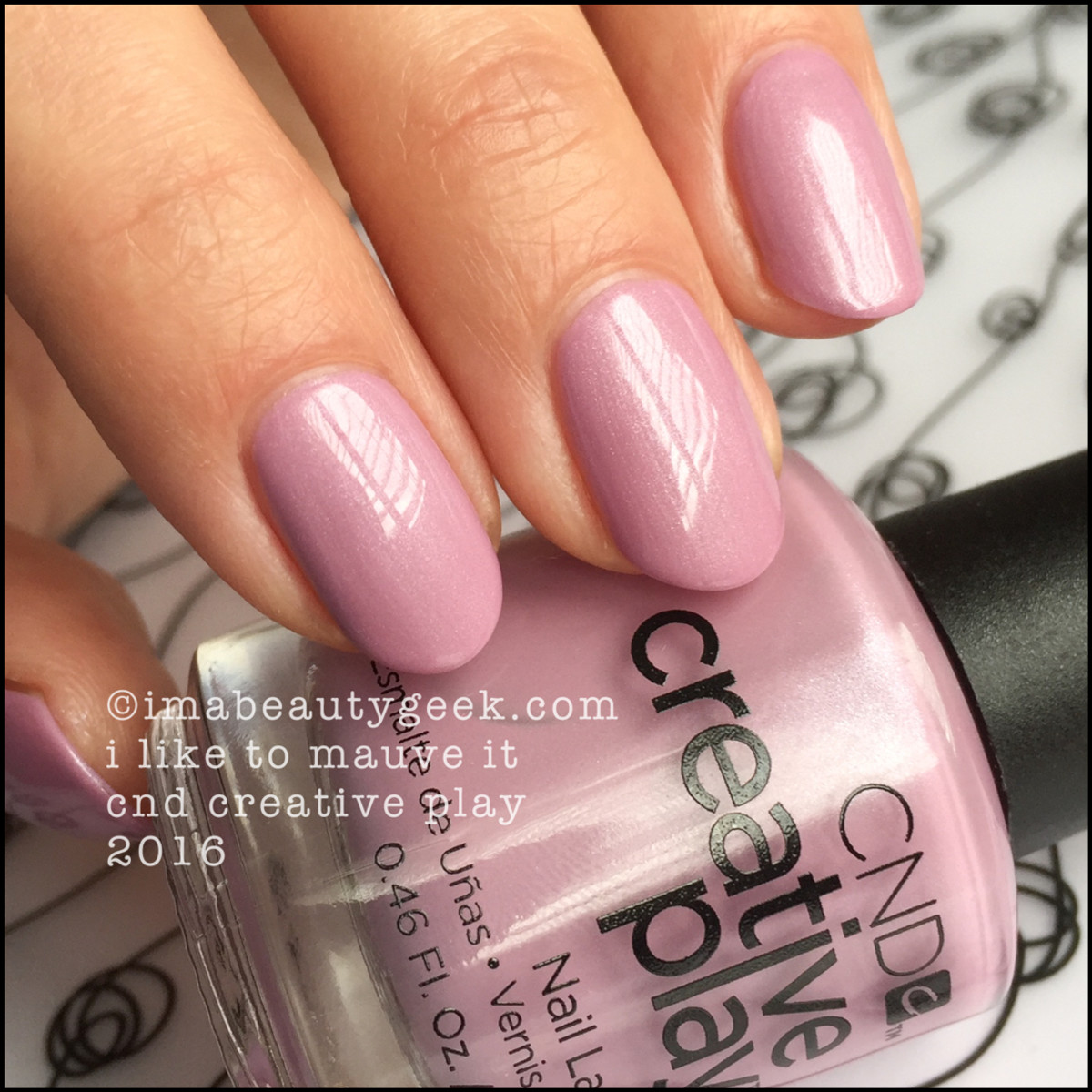 CND Creative Play I Like to Mauve It_CND Creative Play Nail Polish Swatches