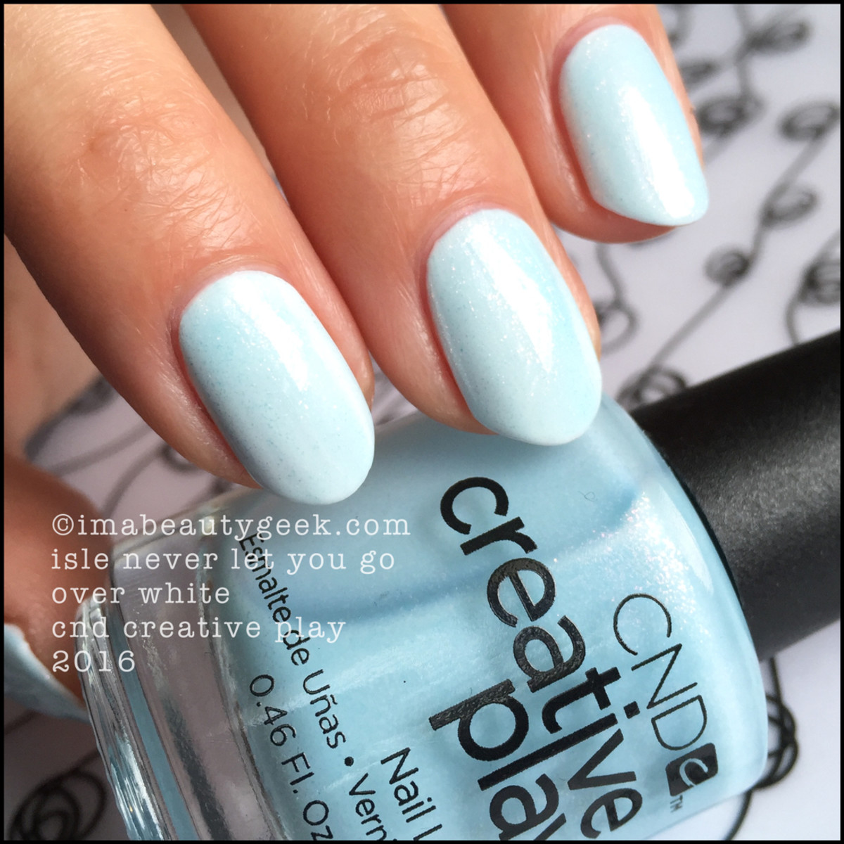 CND Creative Play Isle Never Let You Go_CND Creative Play Nail Polish Swatches 2016