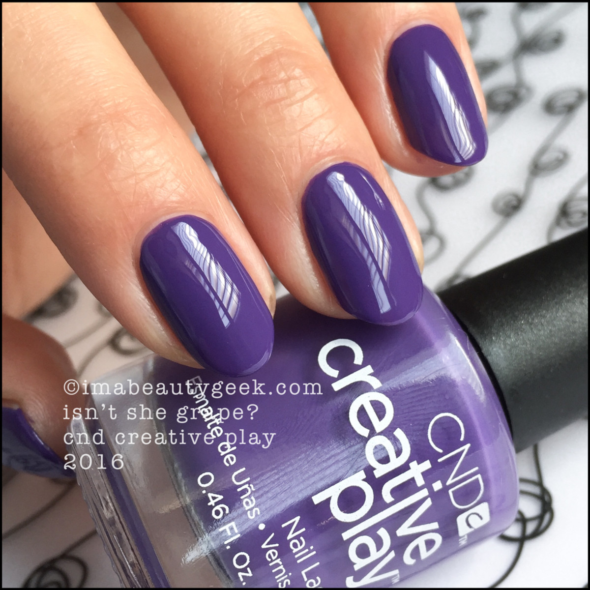 CND Creative Play Isnt She Grape_CND Ceative Play Swatches