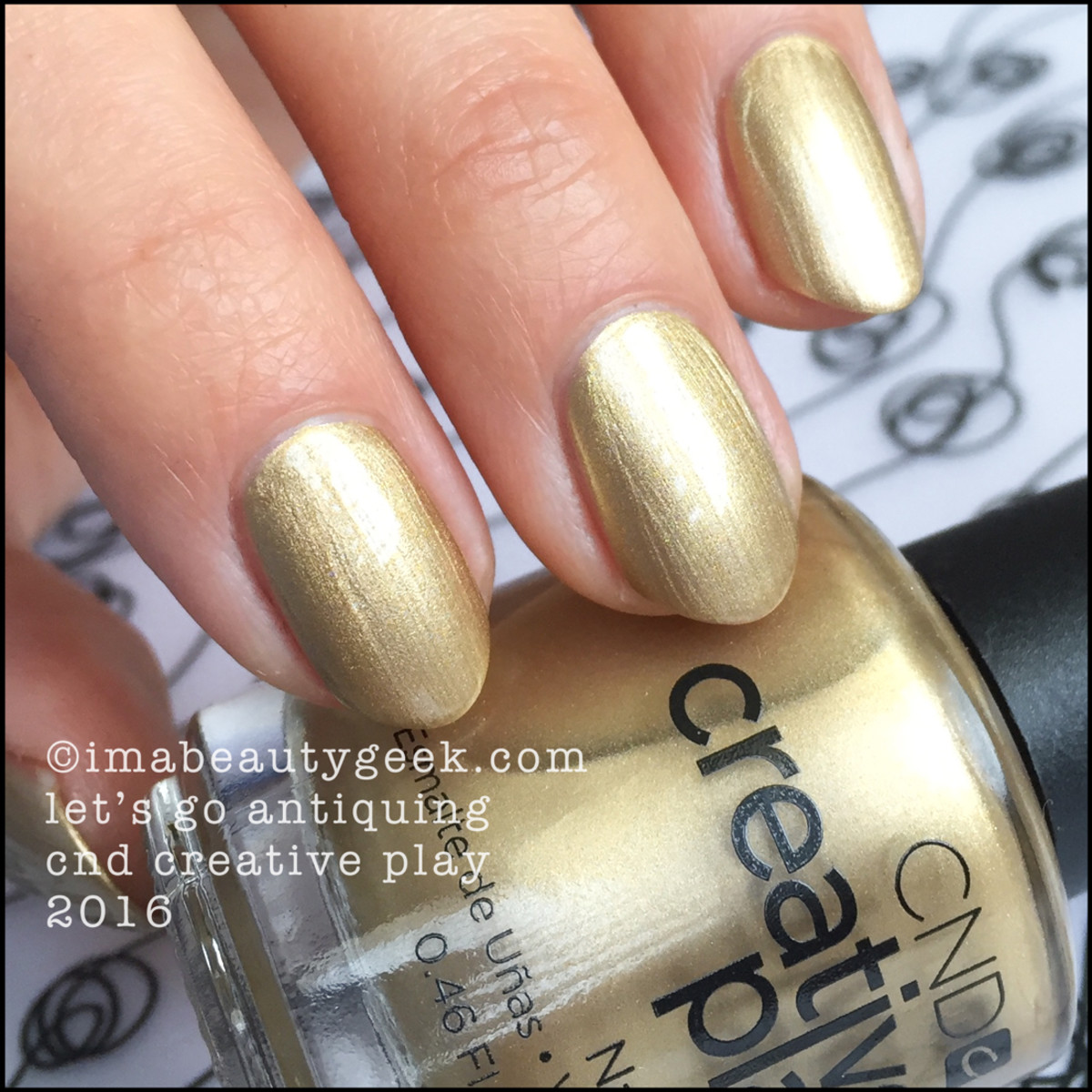 CND Creative Play Lets Go Antiquing_CND Creative Play Nail Polish Swatches