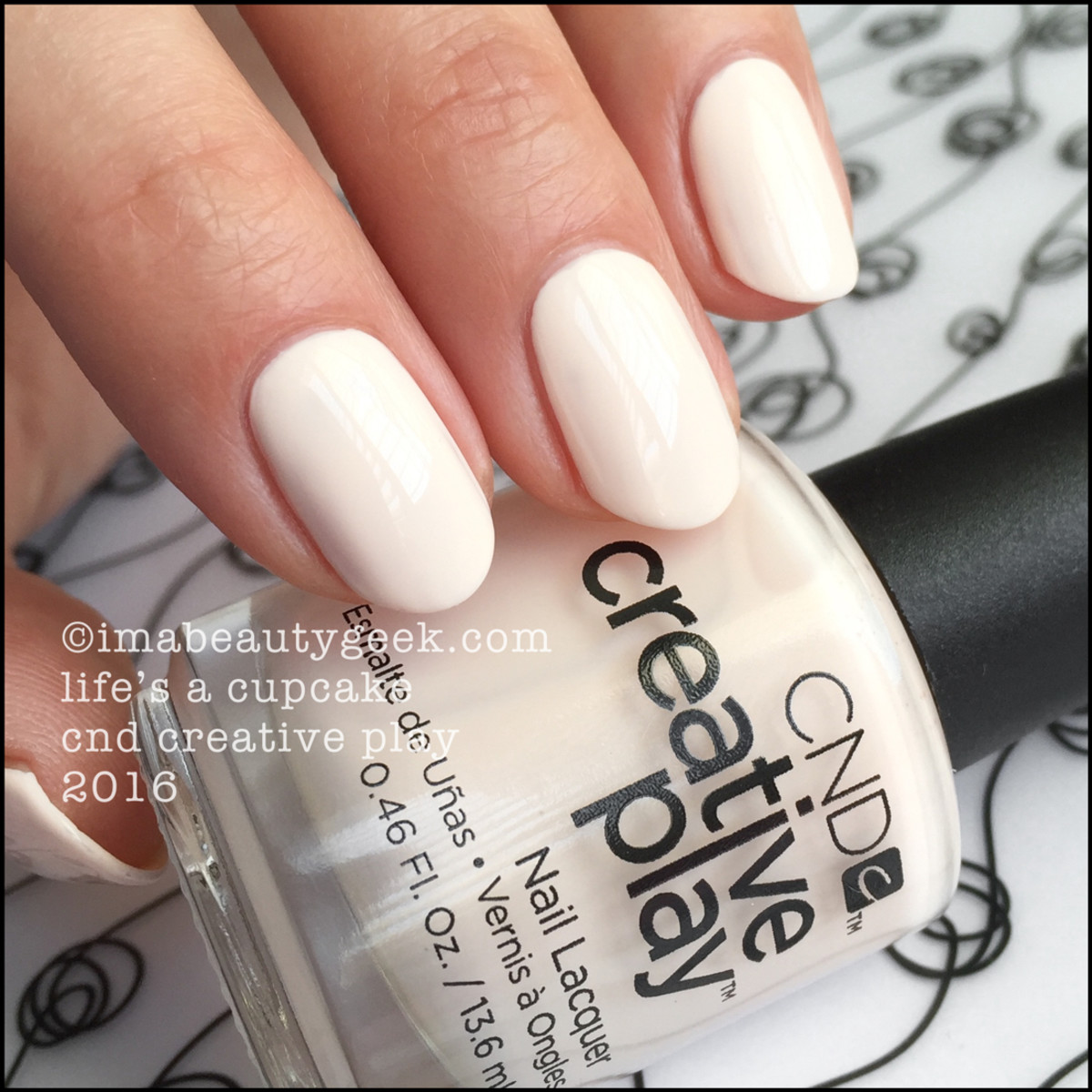 CND Creative Play Lifes a Cupcake_CND Creative Play Nail Lacquer Swatches 2016