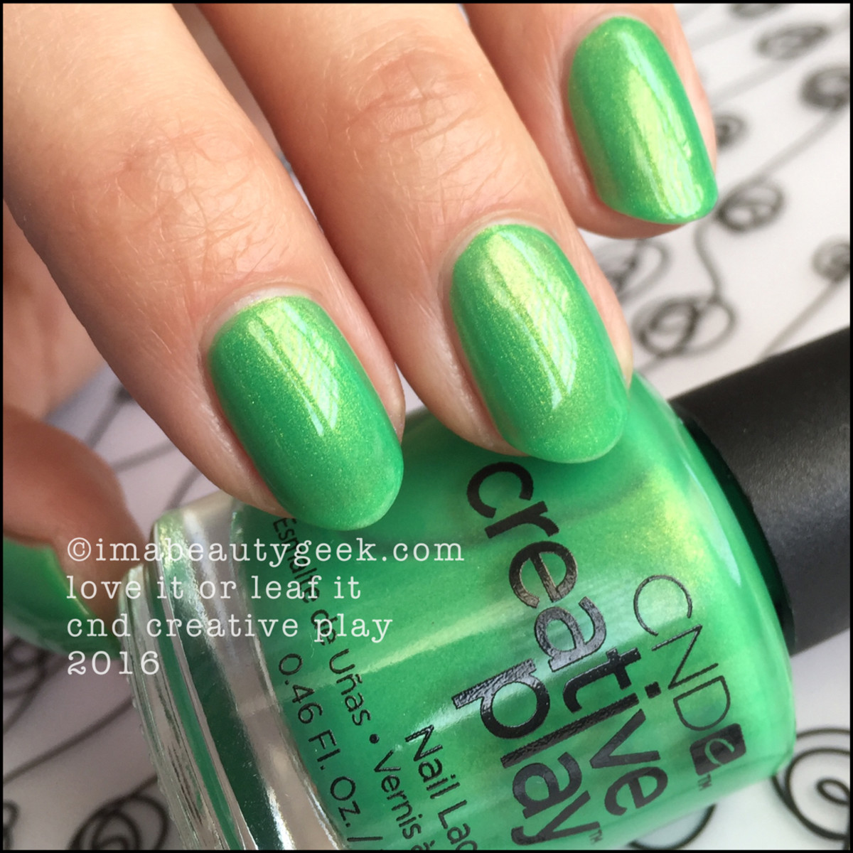CND Creative Play Love it or Leaf It_CND Creative Play Nail Polish Swatches 2016