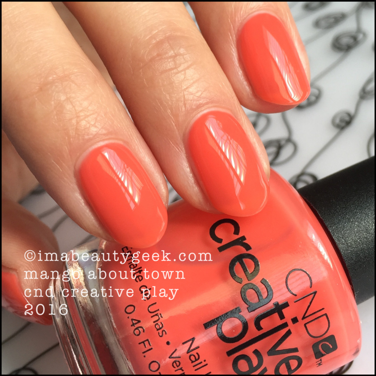 CND Creative Play Mango About Town_CND Creative Play Nail Polish Swatches 2016