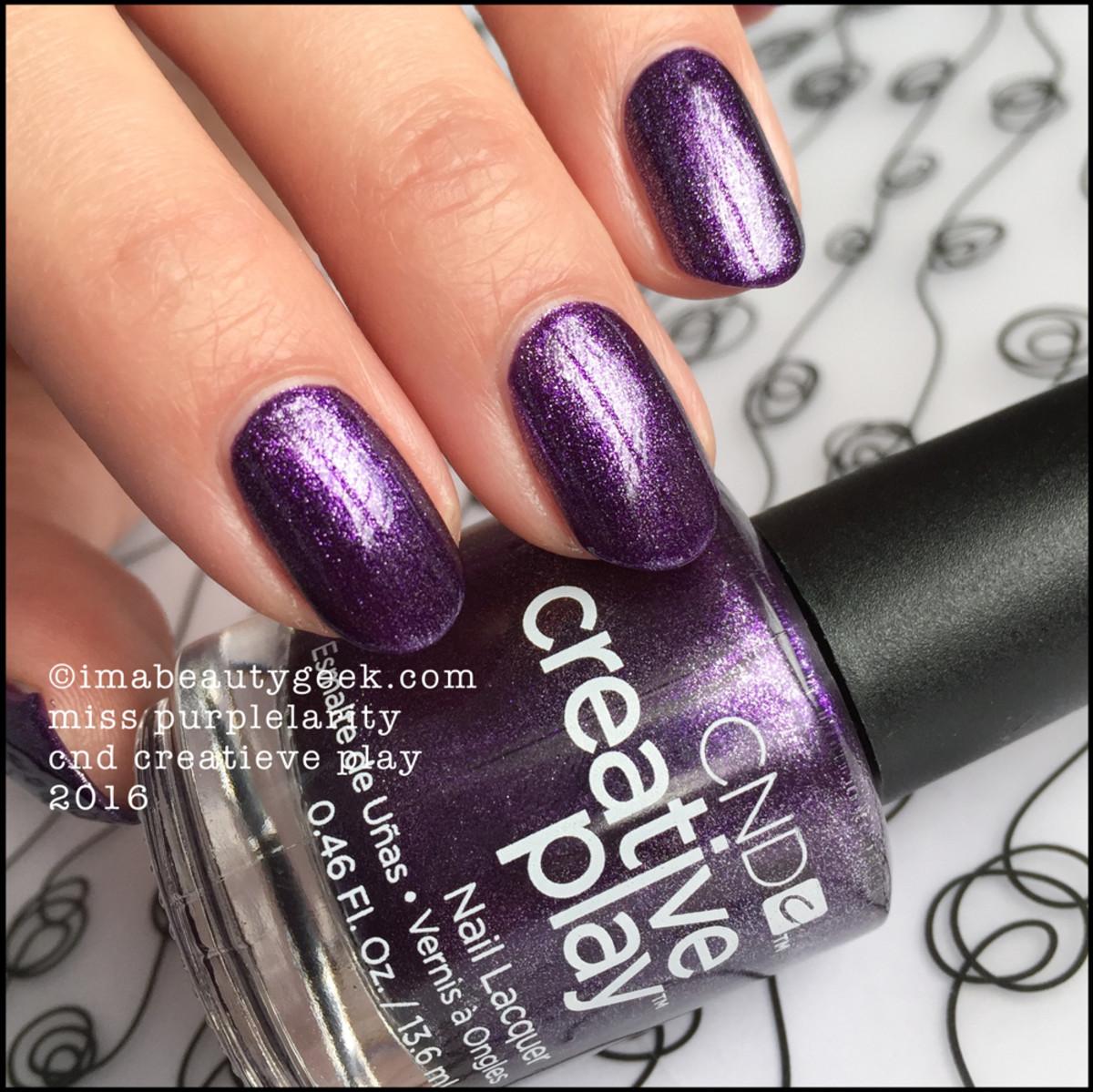 CND Creative Play Miss Purplelarity 2016