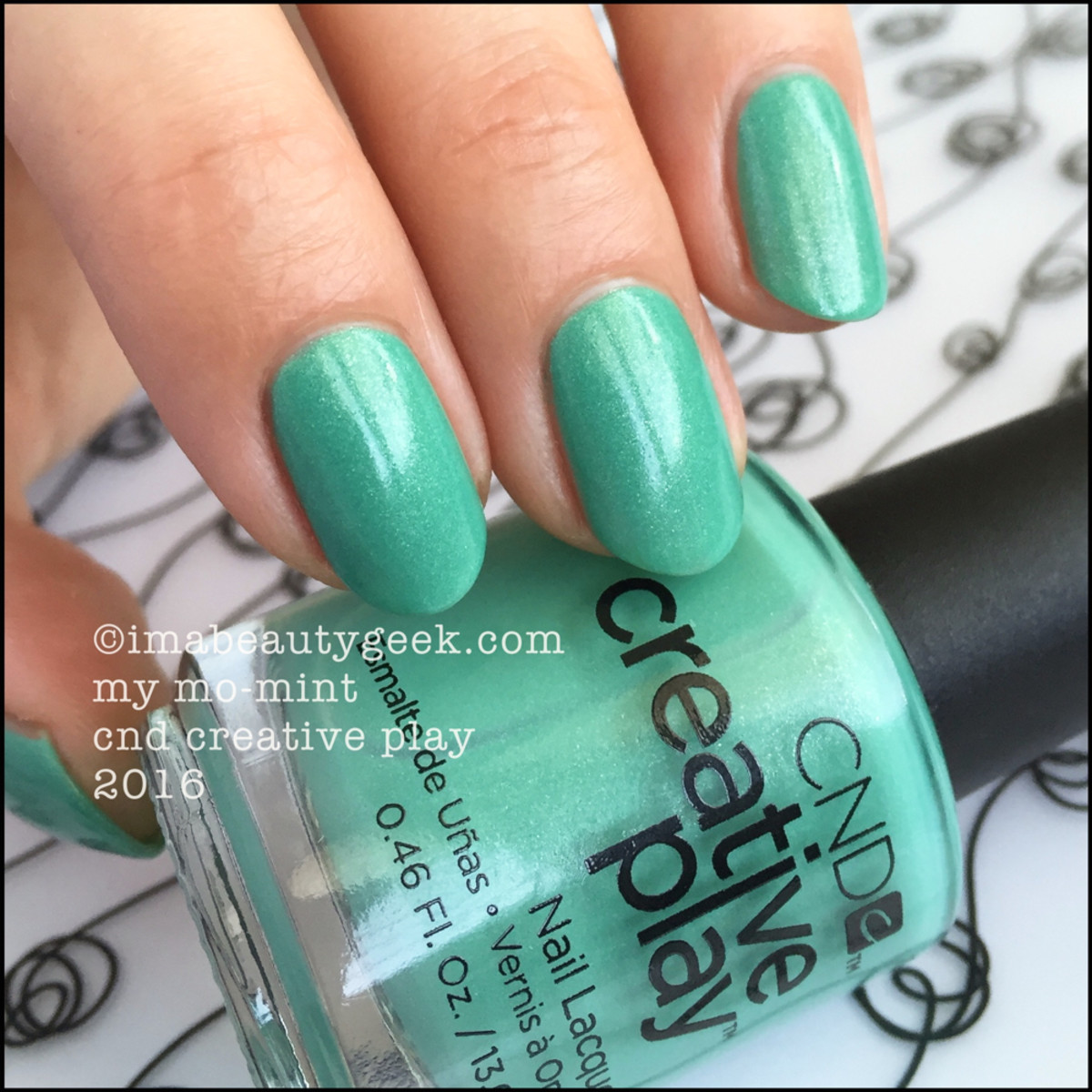 CND Creative Play My MoMint_CND Creative Play Nail Lacquer 2016