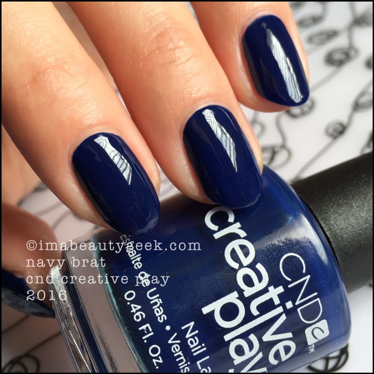 CND Creative Play Navy Brat_CND Creative Play Nail Polish Swatches