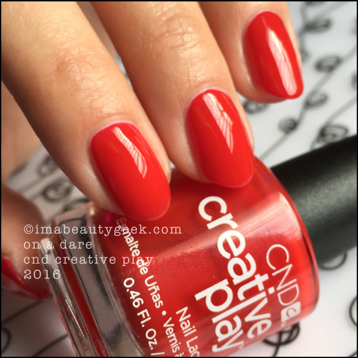 CND Creative Play On A Dare_CND Creative Play Nail Polish Swatches