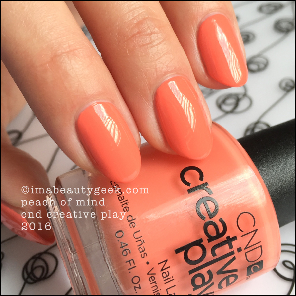 CND Creative Play Peach of Mind_CND Creative Play Nail Polish Swatches