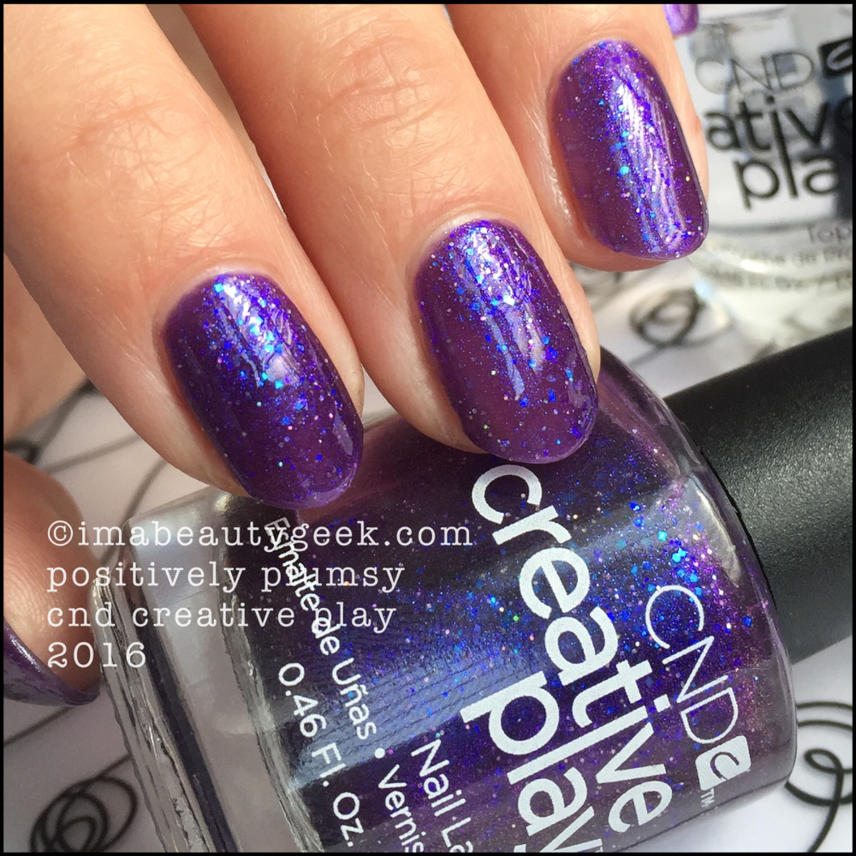 CND Creative Play Positively Plumsy_CND Creative Play Nail Polish Swatches