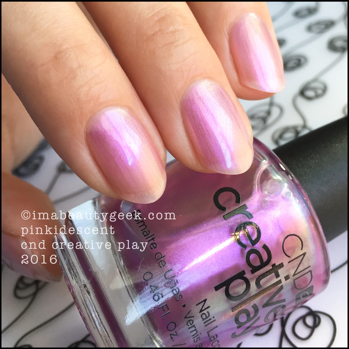 CND Creative Play Pinkidescent_CND Creative Play Nail Polish Swatches