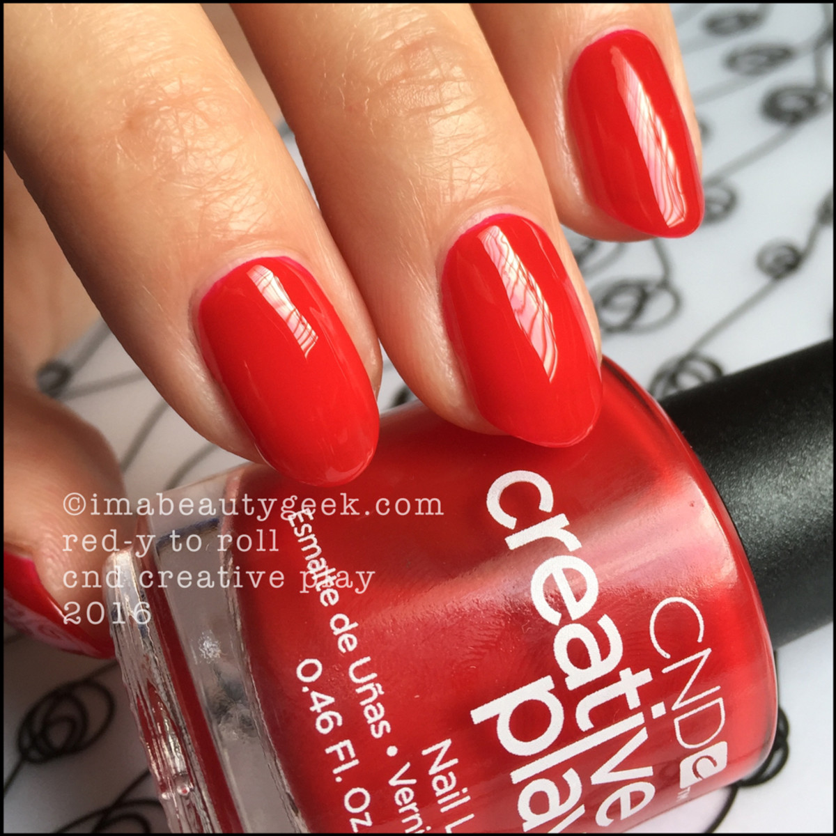 CND Creative Play Redy To Roll_CND Creative Play Nail Polish Swatches