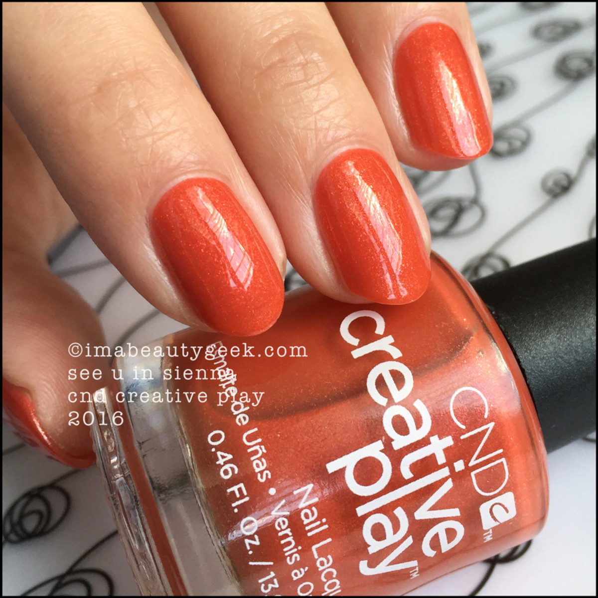 CND Creative Play See U In Sienna_CND Creative Play Nail Polish Swatches