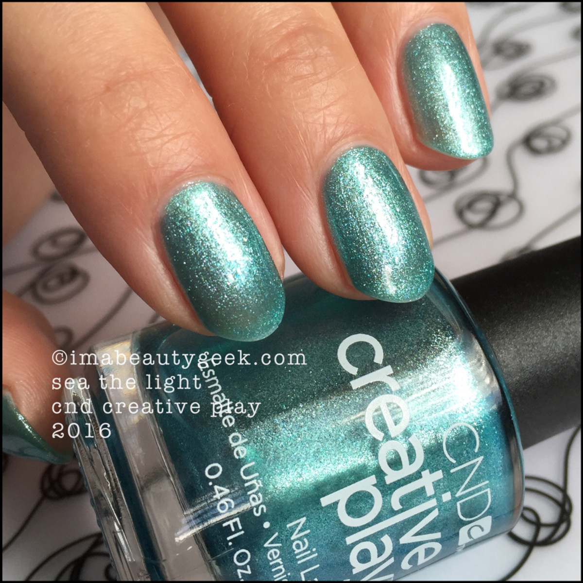 CND Creative Play Sea the Light_CND Creative Play Nail Polish Swatches