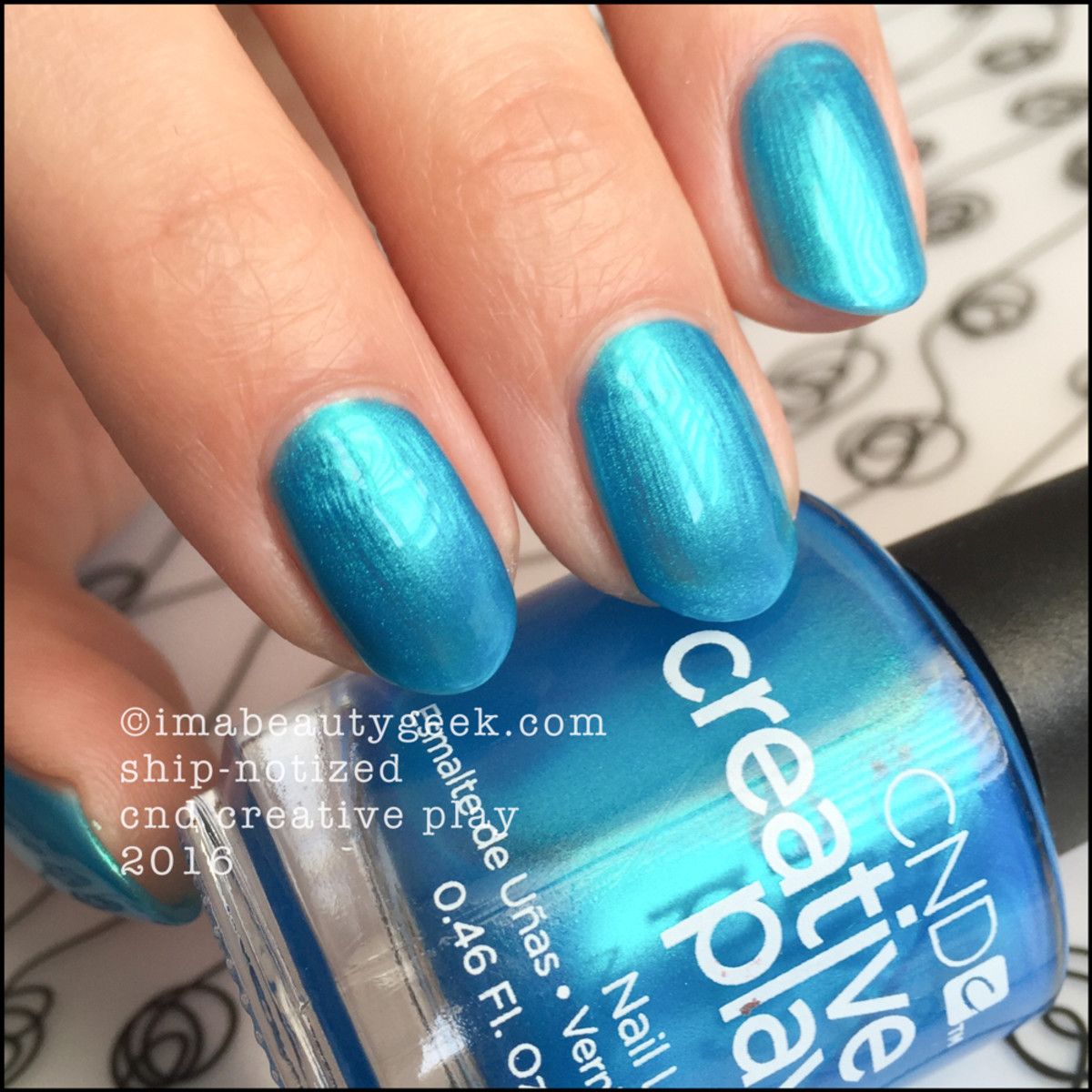 CND Creative Play ShipNotized_CND Creative Play Nail Polish Swatches