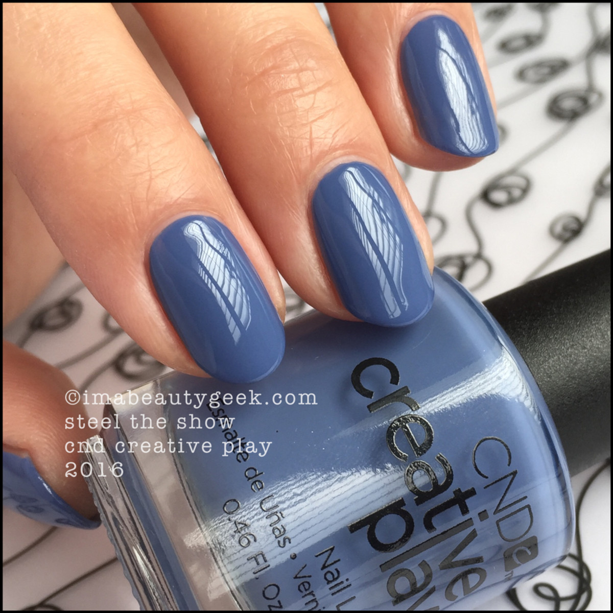 CND Creative Play Steel the Show_CND Creative Play Nail Polish Swatches