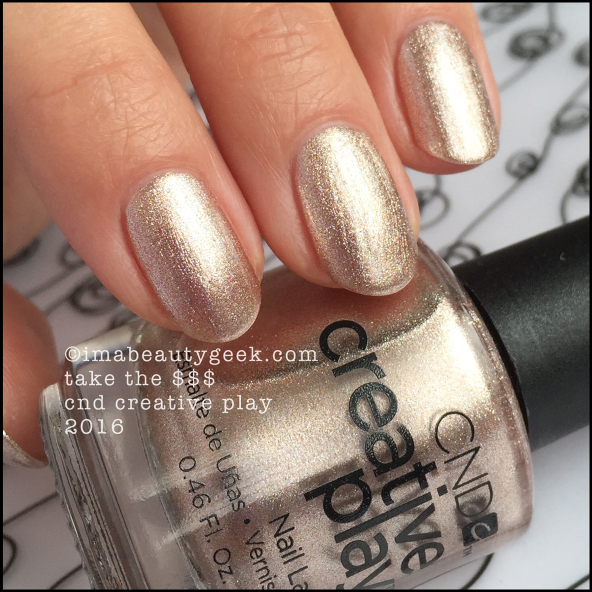 CND Creative Play Take the $$$_Creative Play Nail Polish Swatches