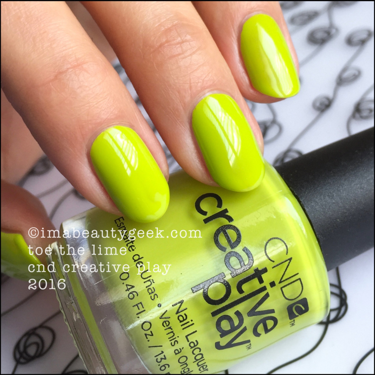 CND Creative Play Toe The Lime_CND Creative Play Swatches