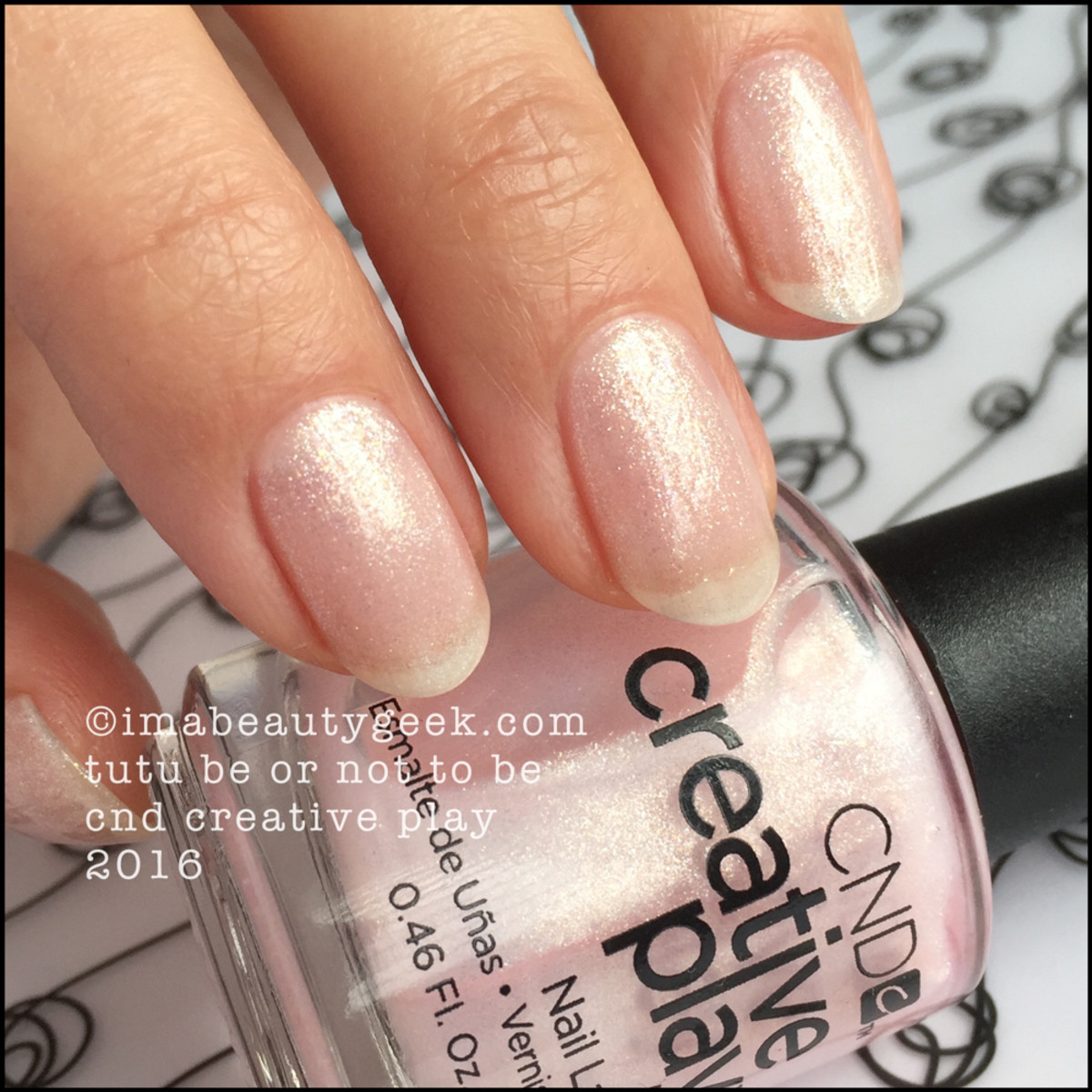 CND Creative Play Tutu Be or Not To Be_CND Creative Play Nail Polish Swatches