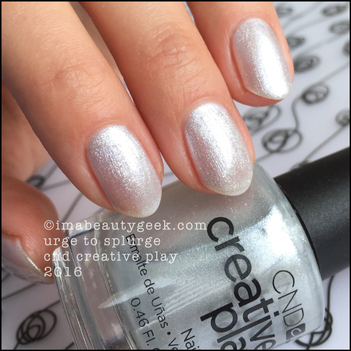 CND Creative Play Urge to Splurge_CND Creative Play Nail Polish Swatches