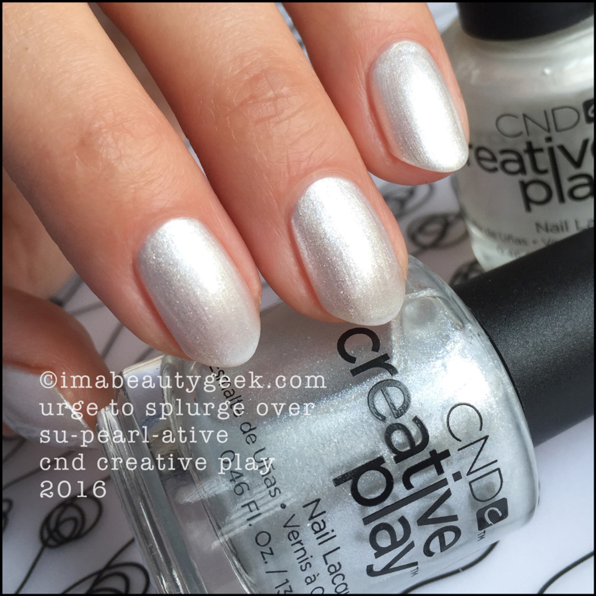 CND Creative Play Urge to Splurge over Supearlative_CND Creative Play Nail Swatches