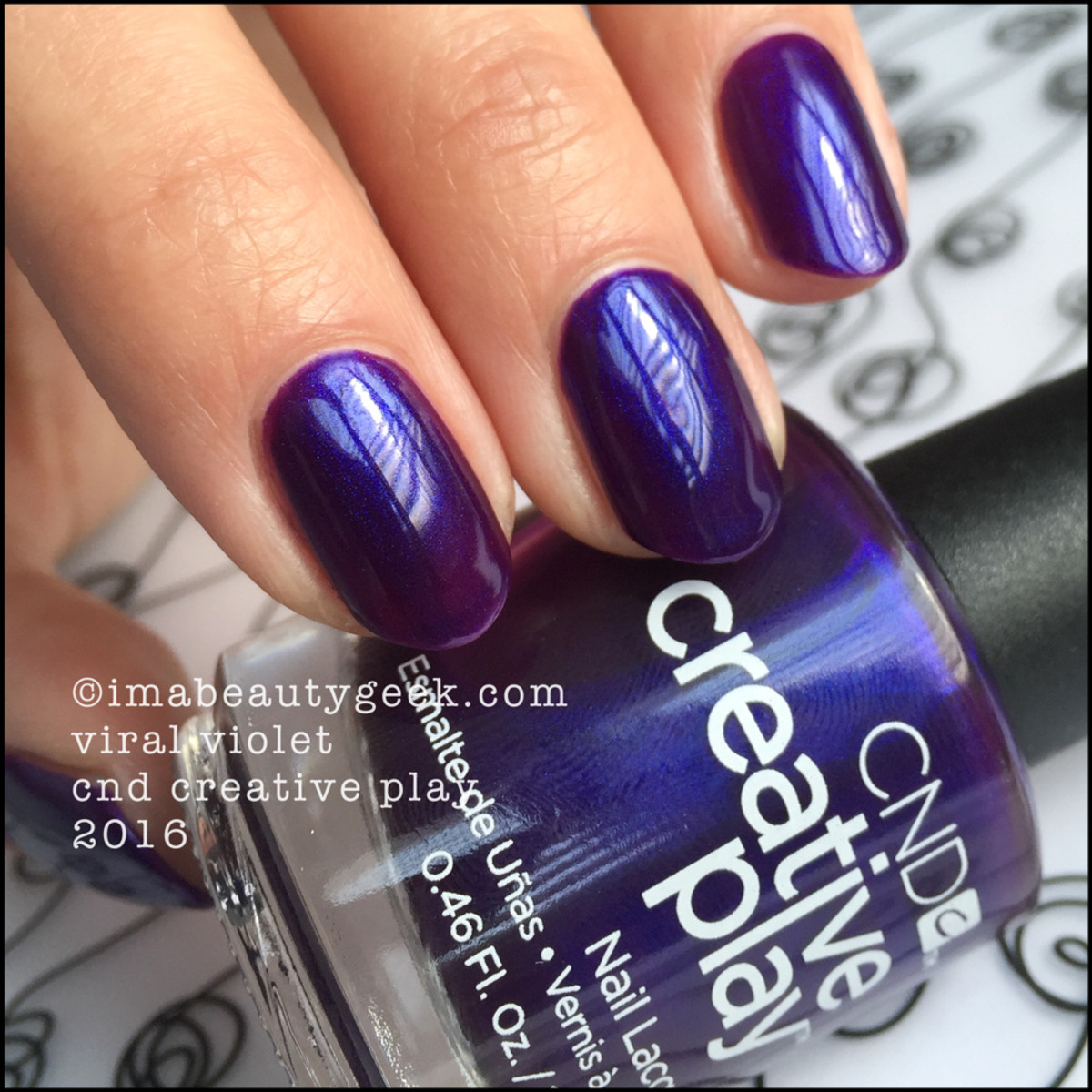 CND Creative Play Viral Violet_CND Creative Play Nail Polish Swatches