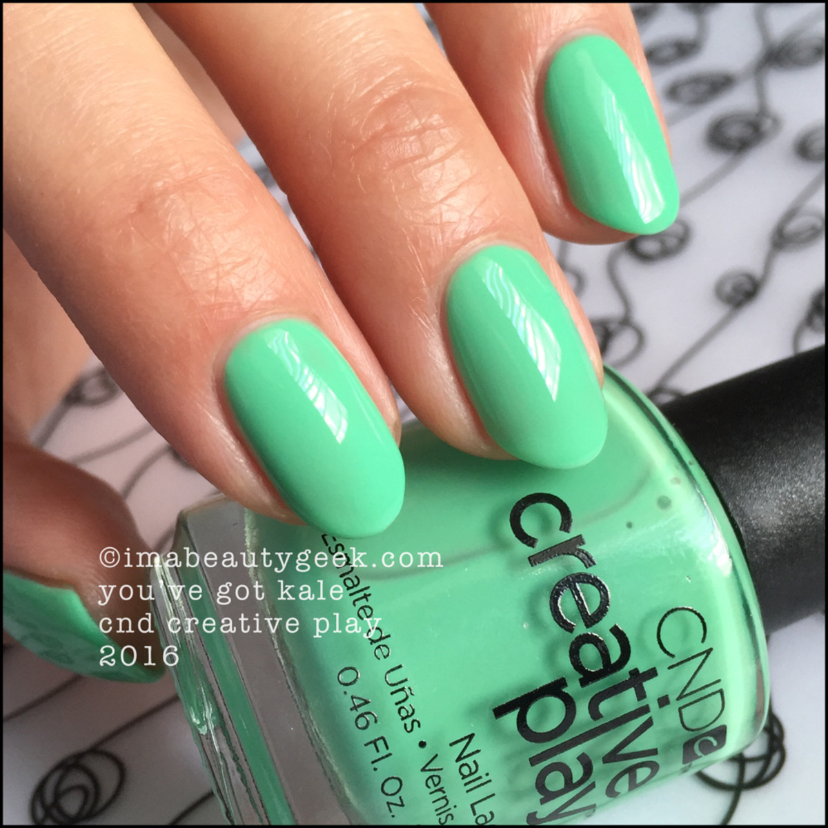 CND Creative Play Youve Got Kale_CND Creative Play Nail Polish Swatches