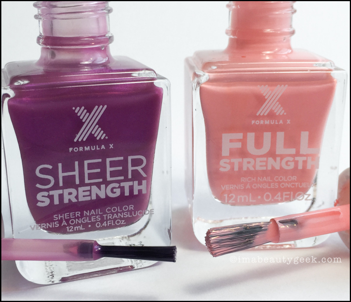 Formula X Full Strength New Brushes 2016