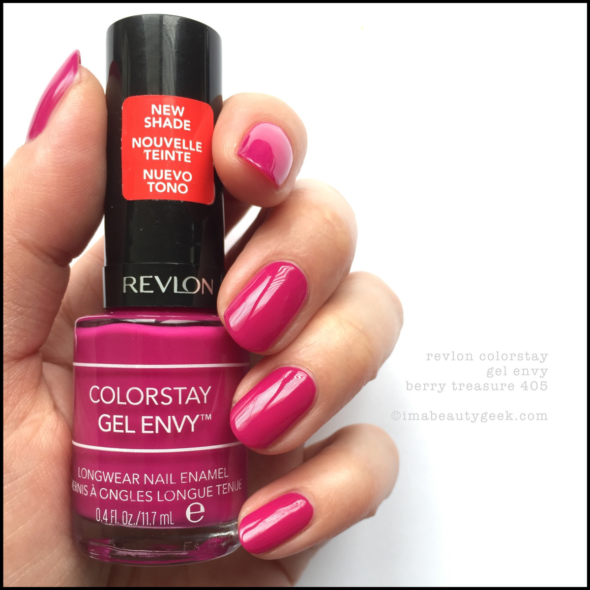 Revlon Gel Envy Berry Treaure 405