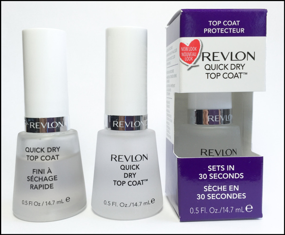 Revlon Quick Dry Top Coat_Revlon Nail Polish Top Coats 2016