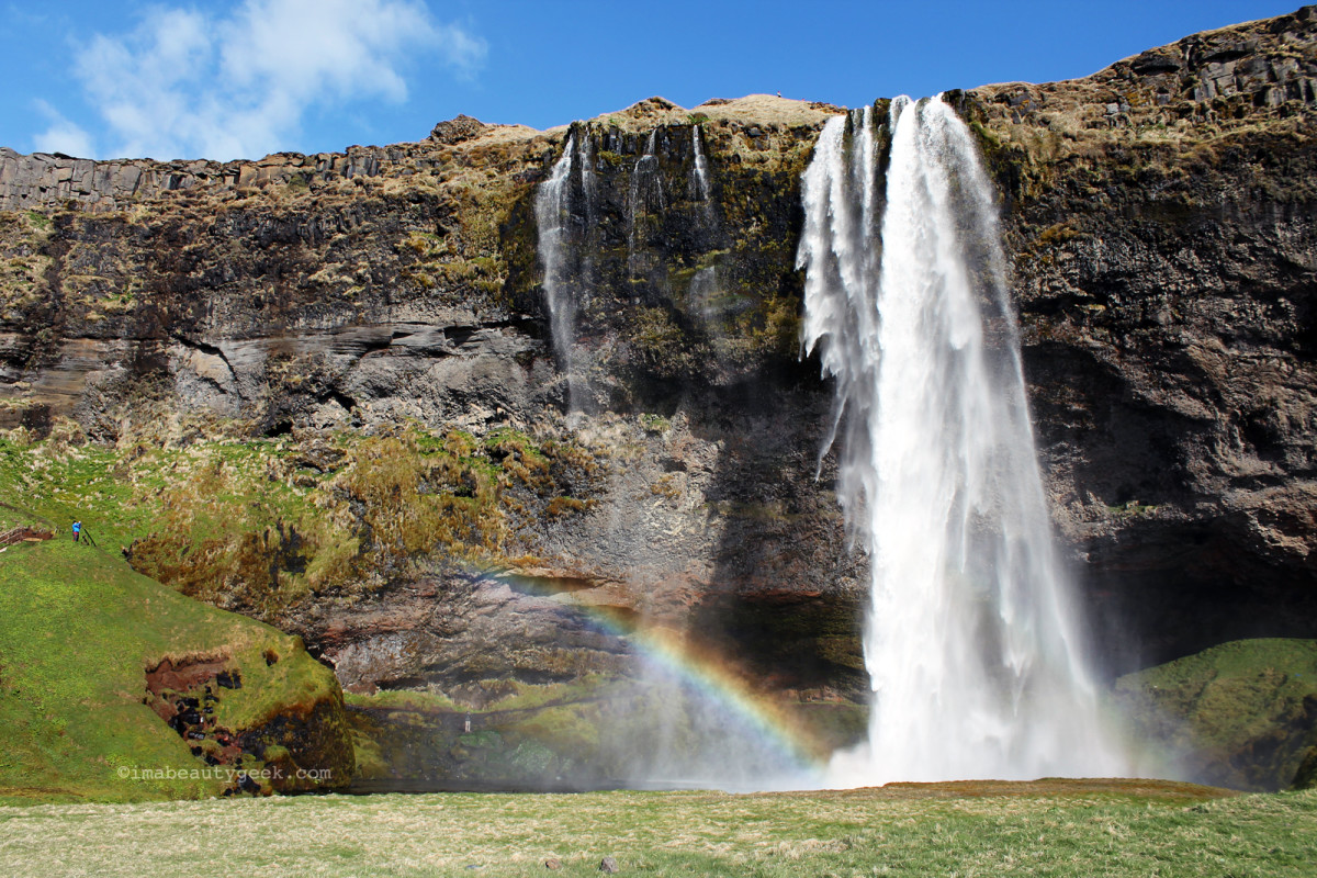 Seljalandsfoss_waterfalls_south Iceland. Reykjavik Excursions