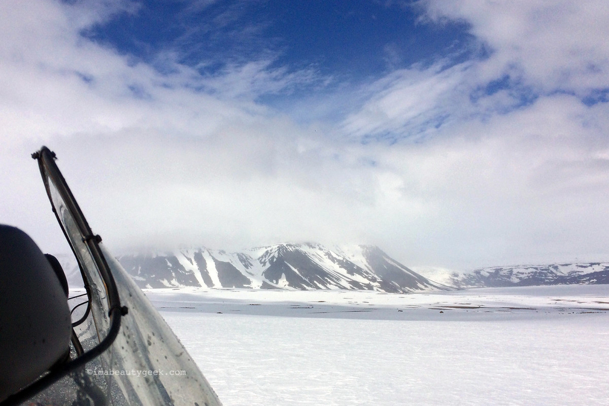 Snowmobiling with Mountaineers of Iceland on Langjökull glacier