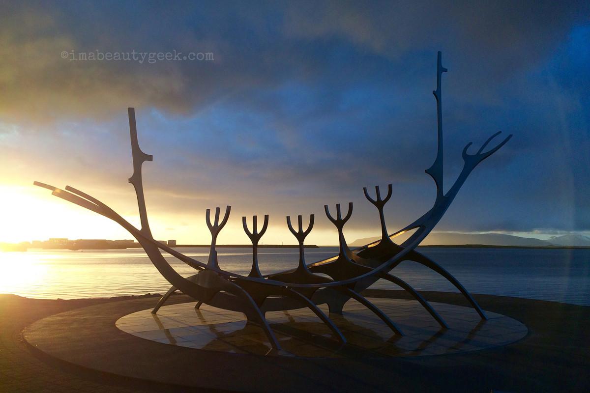 Sòlfar or The Sun Voyager_Reykjavik, Iceland