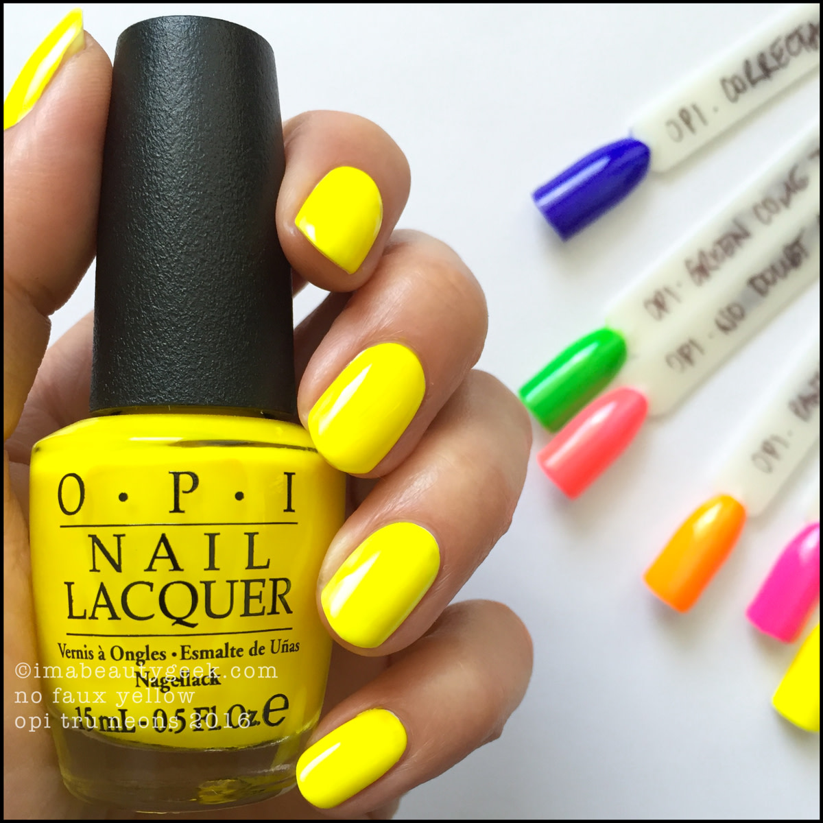 OPI NEONS 2016 SWATCHES & REVIEW