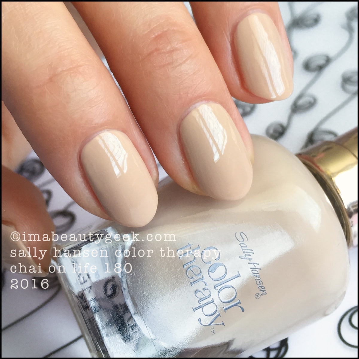 Sally Hansen Color Therapy Chai On Life_Sally Hansen Color Therapy Swatches Review