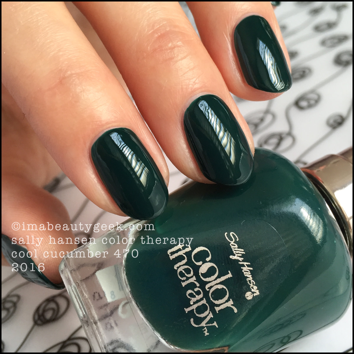 Sally Hansen Color Therapy Cool Cucumber 470_Sally Hansen Color Therapy Review Swatches