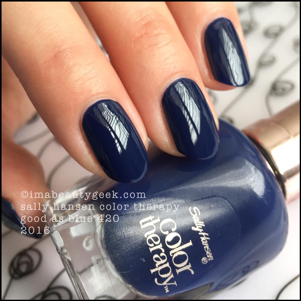 Sally Hansen Color Therapy Good as Blue 420_Sally Hansen Color Therapy Review Swatches
