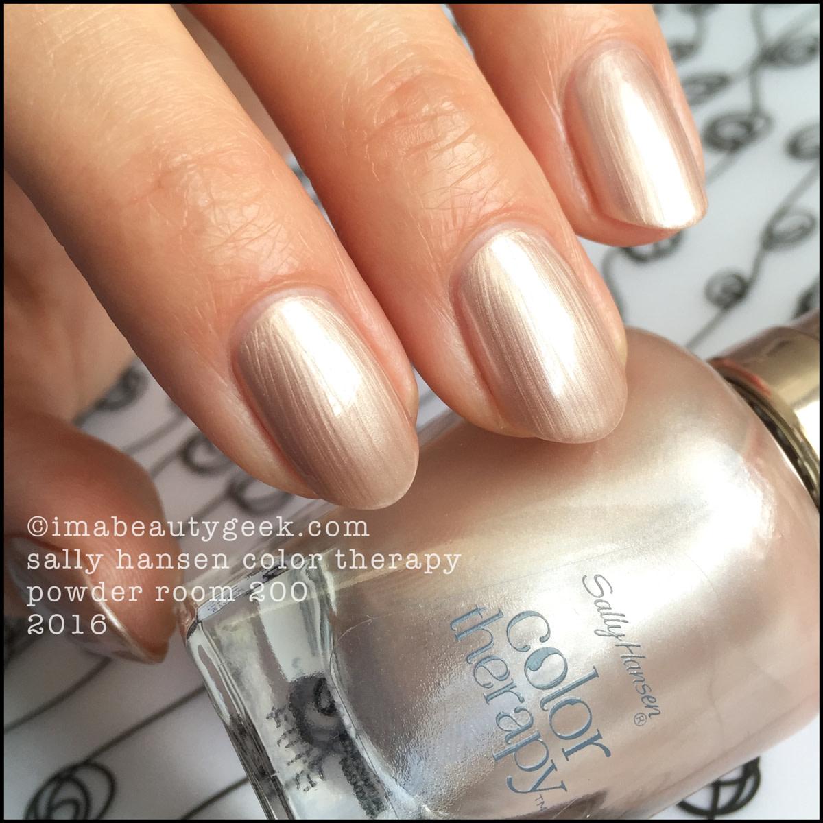 Sally Hansen Color Therapy Powder Room 200_Sally Hansen Color Therapy Nail Polish Review Swatches
