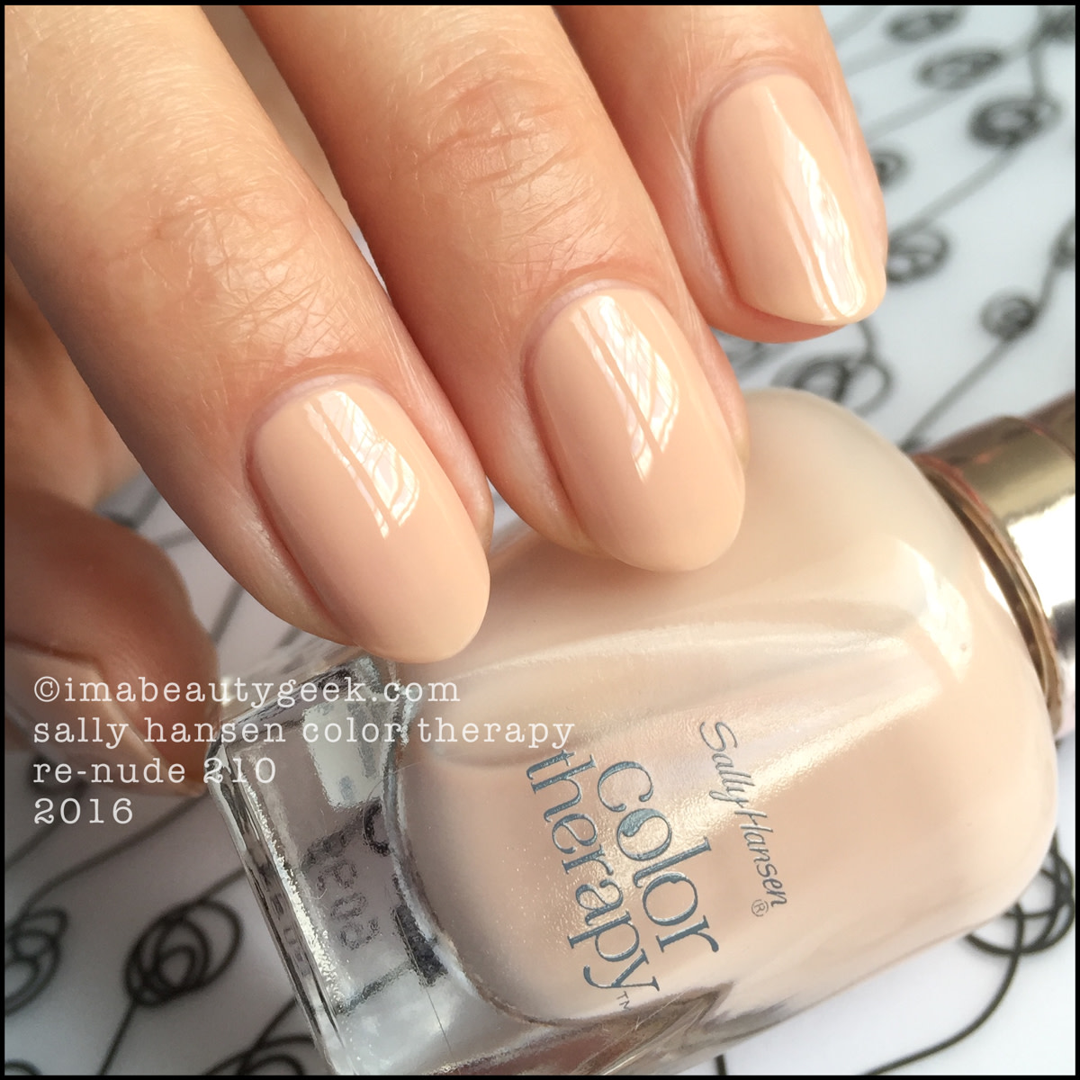 Sally Hansen Color Therapy Re 201 Nail Polish Swatches