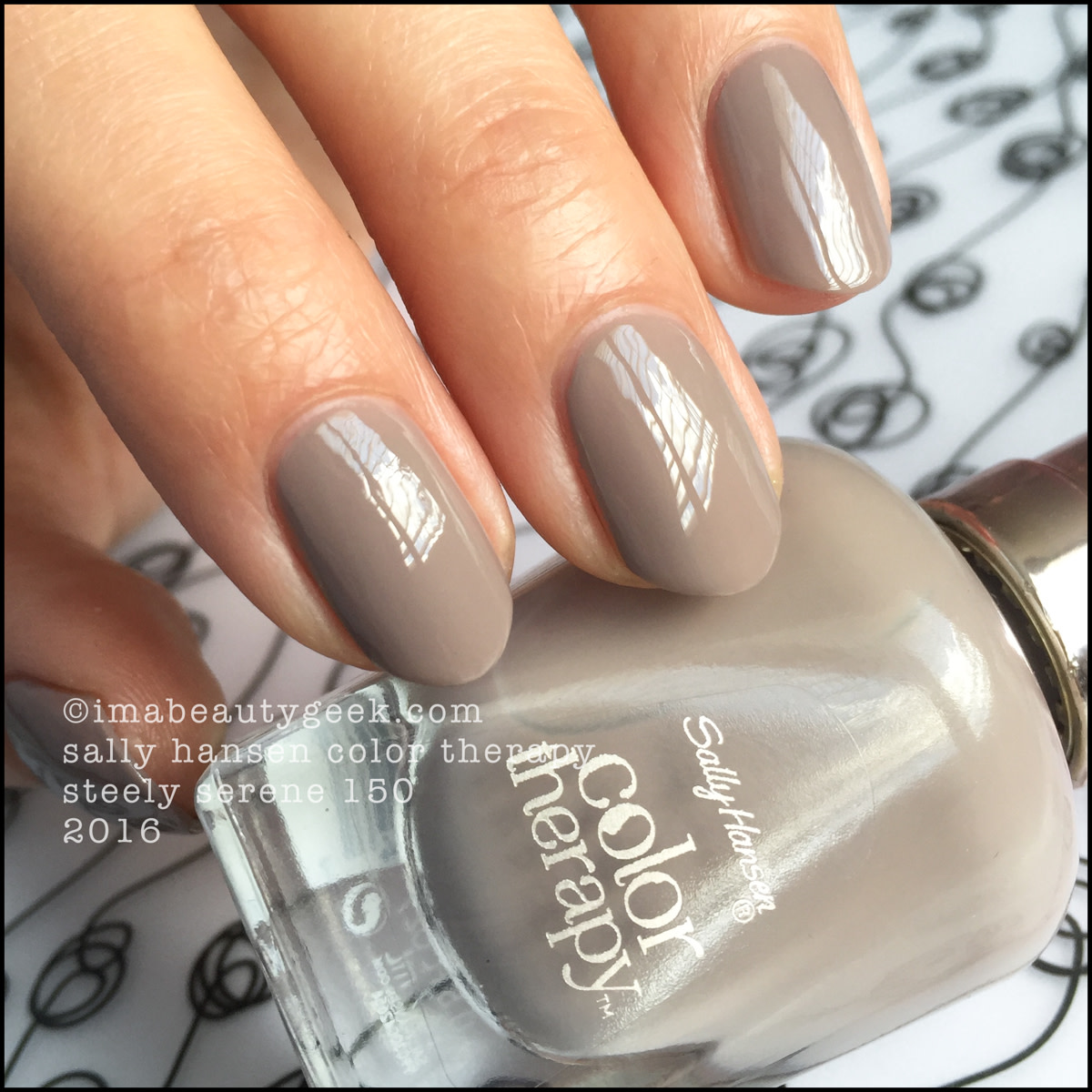Sally Hansen Color Therapy Steely Serene 150_Sally Hansen Color Therapy Nail Polish Review Swatches